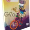 Интернет-магазин «Живая тетрадка» реализует 3D-канцелярию.