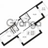 Продается квартира 2-ком 67.53 м² улица Шувалова 1, метро Девяткино