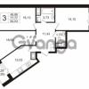 Продается квартира 3-ком 77.77 м² улица Шувалова 1, метро Девяткино