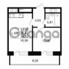 Продается квартира 1-ком 36.42 м² улица Костюшко 19, метро Московская