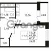 Продается квартира 1-ком 44.29 м² улица Костюшко 19, метро Московская