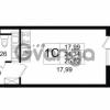 Продается квартира 1-ком 24.34 м² Английская улица 1, метро Улица Дыбенко