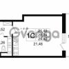 Продается квартира 1-ком 28.24 м² Английская улица 1, метро Улица Дыбенко