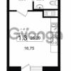 Продается квартира 1-ком 25.29 м² Новая улица 1, метро Девяткино