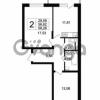 Продается квартира 2-ком 56.62 м² Английская улица 1, метро Улица Дыбенко