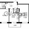 Продается квартира 2-ком 51.9 м² Английская улица 1, метро Улица Дыбенко