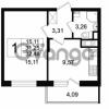 Продается квартира 1-ком 31.07 м² Английская улица 1, метро Улица Дыбенко