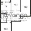Продается квартира 3-ком 68 м² Попова Александра