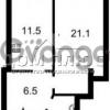 Продается квартира 1-ком 44 м² Руданского Степана