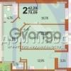Продается квартира 2-ком 78 м² Филатова Академика