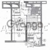 Продается квартира 1-ком 52 м² Воссоединения просп