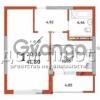 Продается квартира 1-ком 42 м² Краснозвездный просп