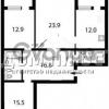 Продается квартира 3-ком 95 м² Хмельницкая