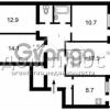Продается квартира 4-ком 86 м² Межигорская