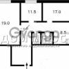 Продается квартира 3-ком 72 м² Подвойского