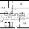 Продается квартира 4-ком 103 м² Саксаганского