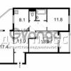 Продается квартира 3-ком 78 м² Харьковское шоссе