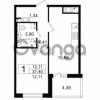 Продается квартира 1-ком 37.4 м² проспект Космонавтов 102, метро Звездная