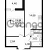 Продается квартира 1-ком 37.45 м² проспект Космонавтов 102, метро Звездная