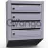 Почтовые ящики в подъезд ( 4 секционные, металлические)