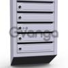 Почтовые ящики в подъезд ( 5 секционные, металлические)