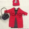Модный наряд для девочки: Туника, Кардиган, Шапочки