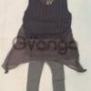 Модный наряд для девочки: Жилетка, Легинсы, Шапки
