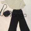 Модный наряд для девочки: Кофточка, Брюки, Сумочка
