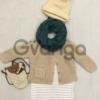 Модный наряд для девочки: Свитерок, Платье, Шапочка