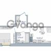 Продается квартира 1-ком 42.72 м² Европейский проспект 14, метро Улица Дыбенко
