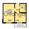 Продается квартира 1-ком 37.5 м² улица Дыбенко 6, метро Улица Дыбенко