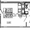 Продается квартира 1-ком 27.04 м² проспект Энергетиков 9, метро Ладожская
