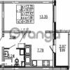 Продается квартира 1-ком 29.41 м² проспект Энергетиков 9, метро Ладожская