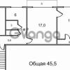 Продается квартира 2-ком 46 м² Новый Городок,д.17