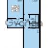 Продается квартира 2-ком 62.28 м² улица Дыбенко 6, метро Улица Дыбенко