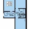 Продается квартира 2-ком 61.68 м² улица Дыбенко 6, метро Улица Дыбенко