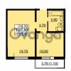 Продается квартира 1-ком 37.3 м² улица Дыбенко 6, метро Улица Дыбенко
