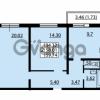 Продается квартира 2-ком 58.01 м² улица Дыбенко 6, метро Улица Дыбенко