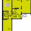 Продается квартира 3-ком 84.3 м² улица Дыбенко 6, метро Улица Дыбенко