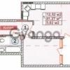 Продается квартира 1-ком 43 м² Кузнецова, 22