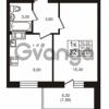 Продается квартира 1-ком 31.02 м² проспект Авиаторов Балтики 3, метро Девяткино