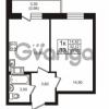 Продается квартира 1-ком 32.12 м² проспект Авиаторов Балтики 3, метро Девяткино