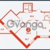 Продается квартира 2-ком 57.2 м² шоссе в Лаврики 83, метро Девяткино