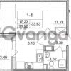 Продается квартира 1-ком 31.98 м² улица Пионерстроя 29, метро Проспект Ветеранов