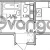 Продается квартира 1-ком 38.63 м² улица Пионерстроя 29, метро Проспект Ветеранов