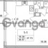 Продается квартира 1-ком 36.57 м² улица Пионерстроя 29, метро Проспект Ветеранов