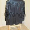 Мужской кожаный пиджак.(модный и стильный) ,новый!