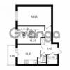 Продается квартира 2-ком 52.17 м² Комендантский проспект 53к 1, метро Комендантский проспект