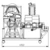 Передвижное модульное оборудование промывки и сортировки ПГС