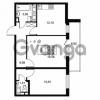 Продается квартира 2-ком 56.03 м² Комендантский проспект 53к 1, метро Комендантский проспект